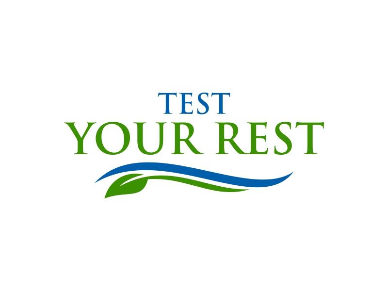 Test Your Rest logo design by ingepro