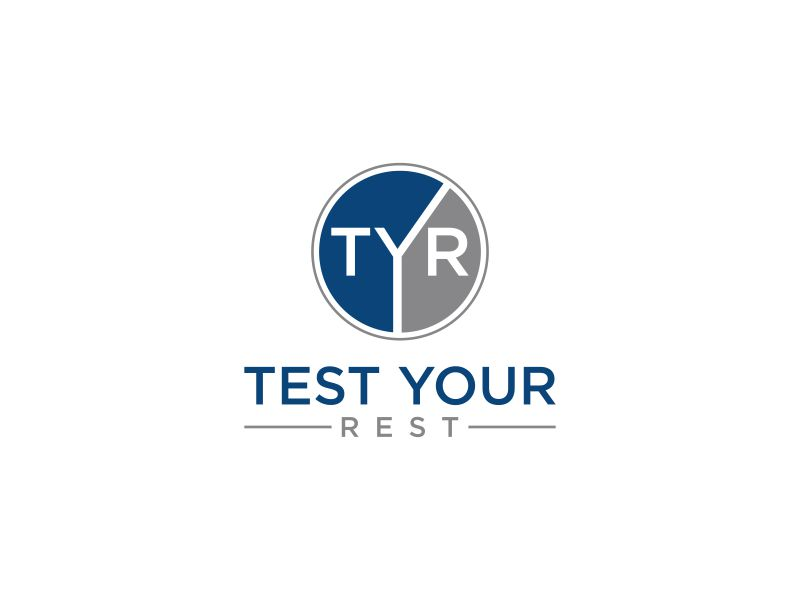 Test Your Rest logo design by rian38