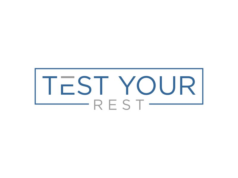 Test Your Rest logo design by mukleyRx