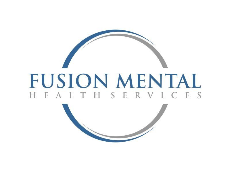 Fusion Mental Health Services logo design by mukleyRx