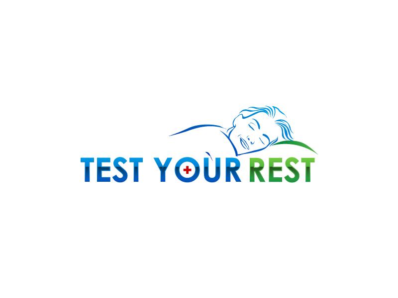 Test Your Rest logo design by uttam