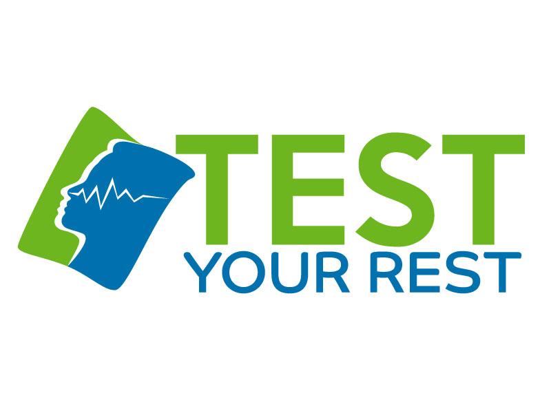 Test Your Rest logo design by ElonStark