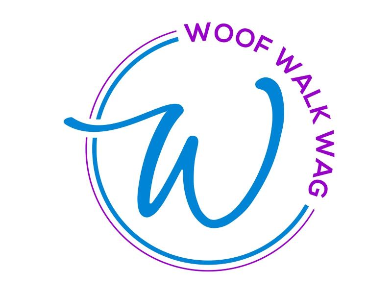 Woof Walk Wag logo design by cintoko