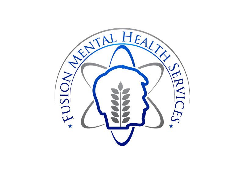 Fusion Mental Health Services logo design by uttam