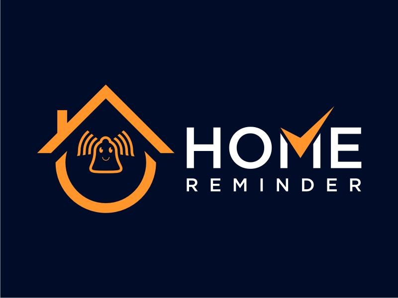 Home Reminder logo design by Inki