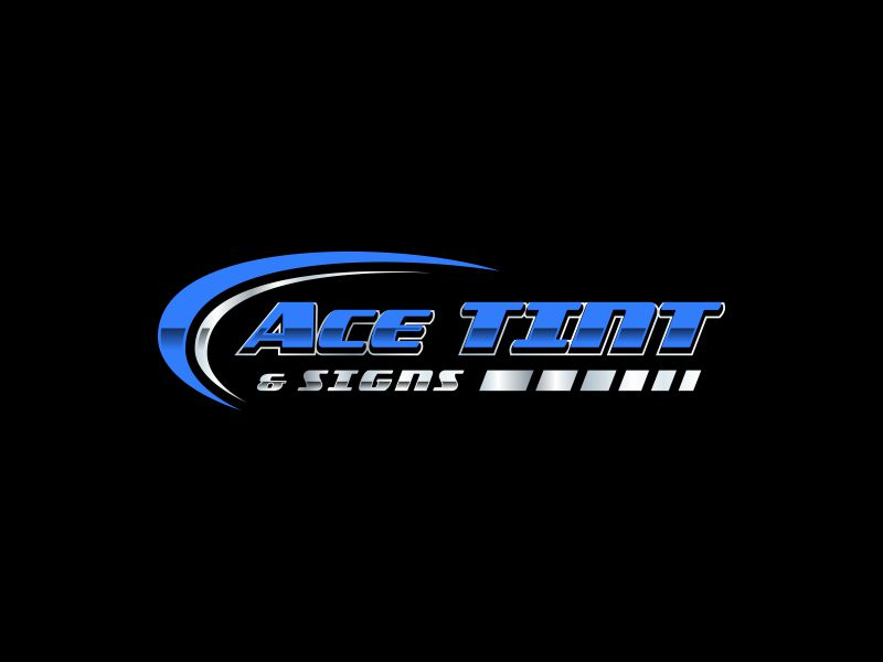 Ace  TINT  & SIGNS logo design by andayani*