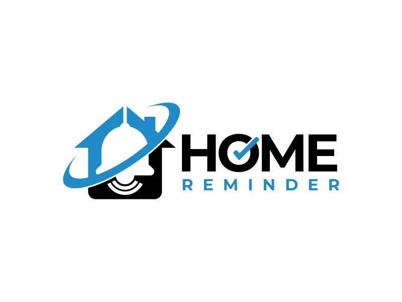 Home Reminder logo design by mutafailan