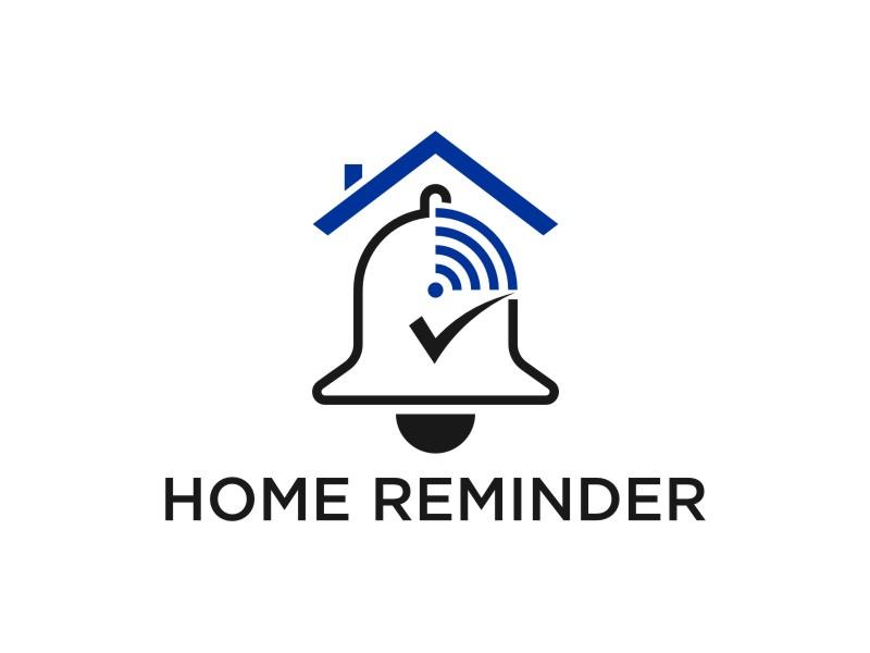 Home Reminder logo design by larasati