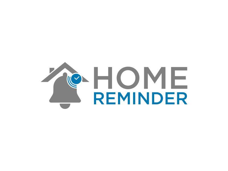 Home Reminder logo design by Humhum