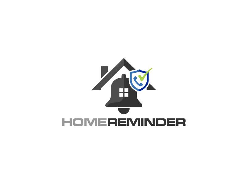 Home Reminder logo design by zinnia