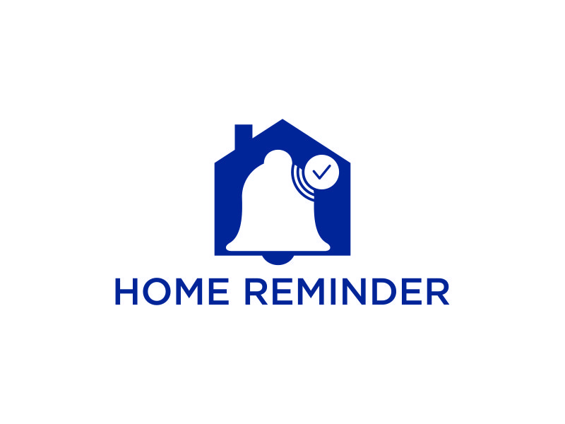 Home Reminder logo design by blessings