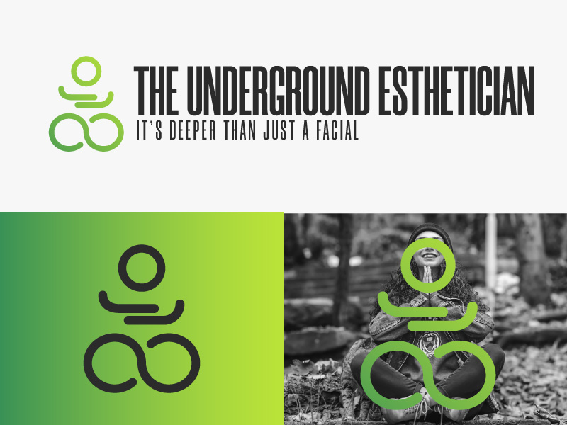 The Underground Esthetician.........it's deeper than just a facial logo design by Sami Ur Rab