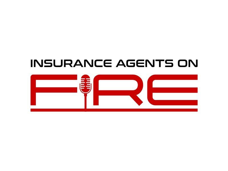 Insurance Agents On Fire logo design by cintoko