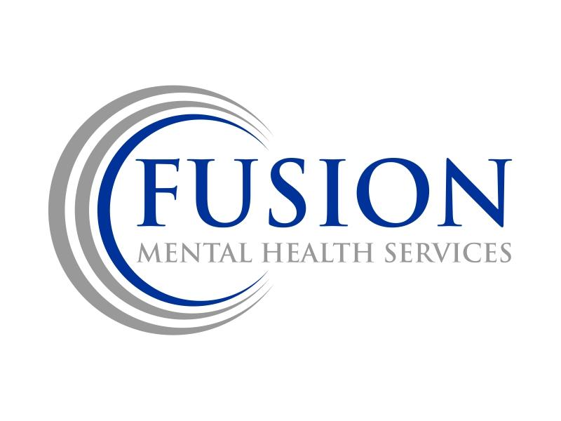 Fusion Mental Health Services logo design by cintoko