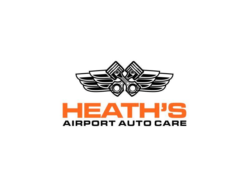 Heath's Auto at Scottsdale Airport logo design by restuti