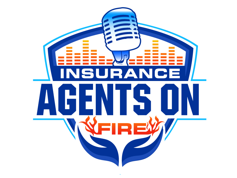 Insurance Agents On Fire logo design by LucidSketch