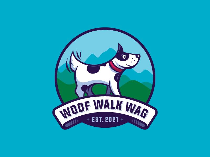 Woof Walk Wag logo design by Mithun Chakraborty