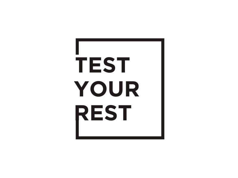 Test Your Rest logo design by josephira