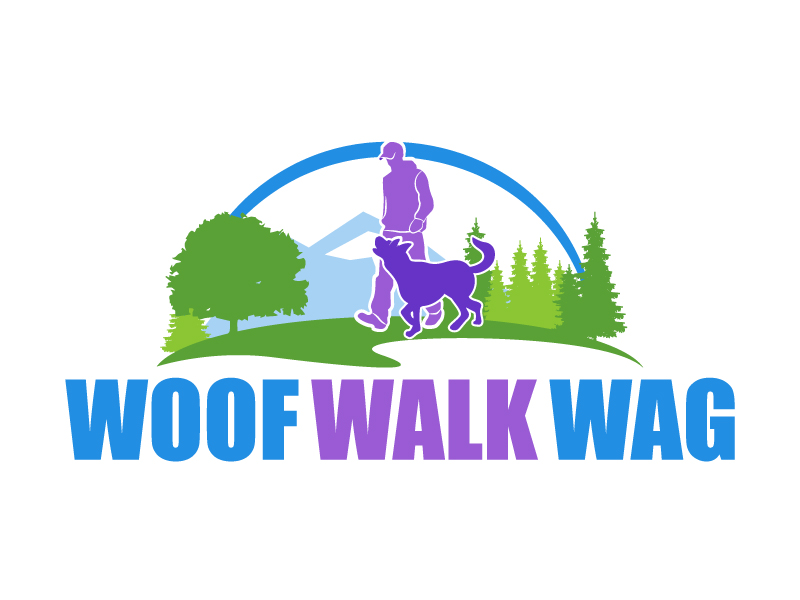Woof Walk Wag logo design by karjen