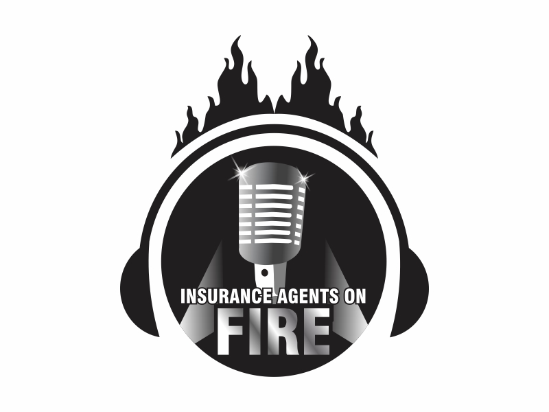 Insurance Agents On Fire logo design by Ravi Dhawan