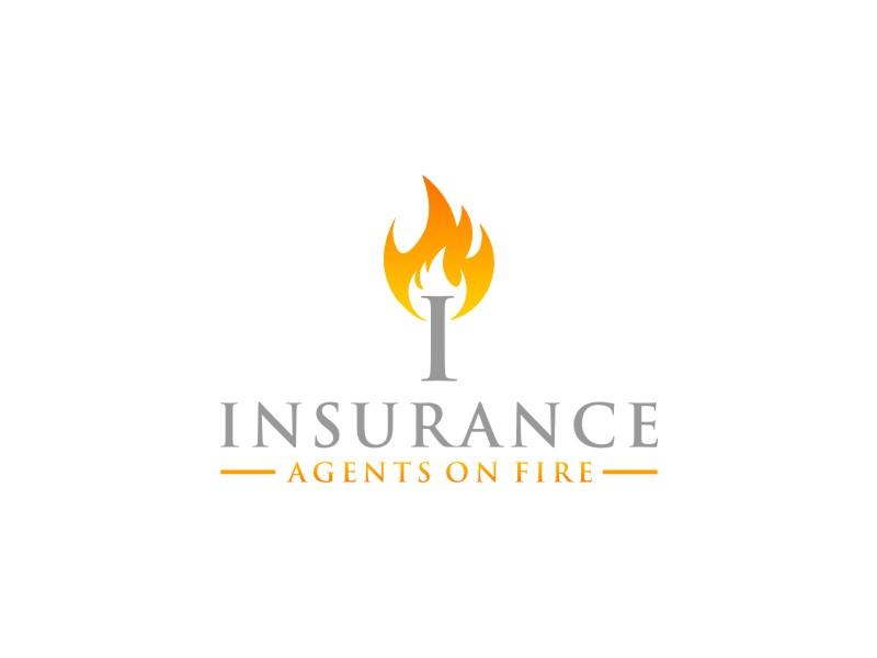 Insurance Agents On Fire logo design by Arto moro