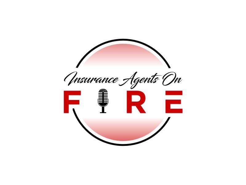 Insurance Agents On Fire logo design by sodimejo