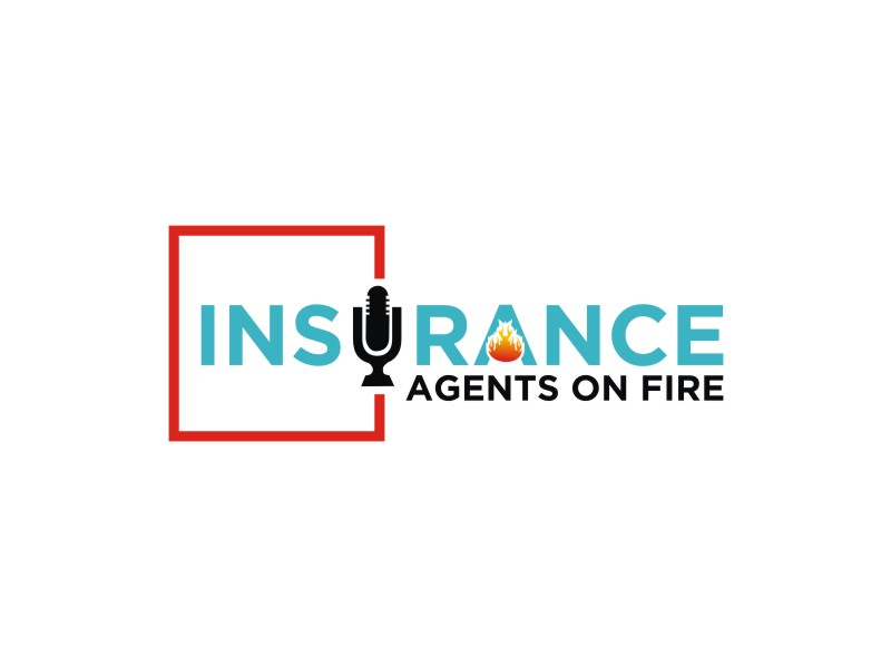 Insurance Agents On Fire logo design by Dian..cox