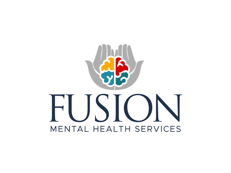 Fusion Mental Health Services logo design by kunejo