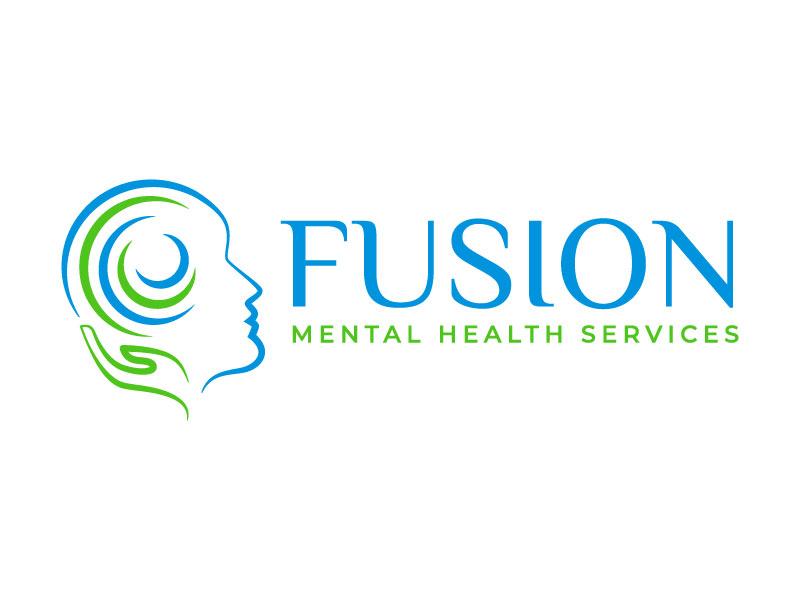Fusion Mental Health Services logo design by Bhaskar Shil