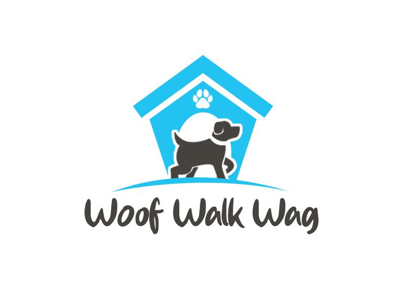 Woof Walk Wag logo design by kunejo