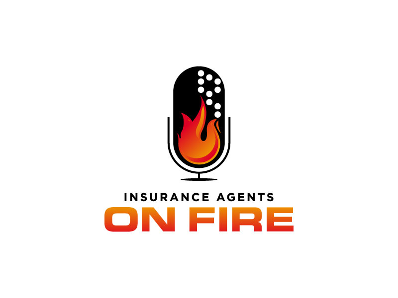 Insurance Agents On Fire logo design by torresace