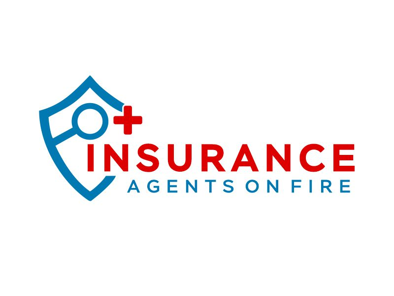 Insurance Agents On Fire logo design by Gwerth
