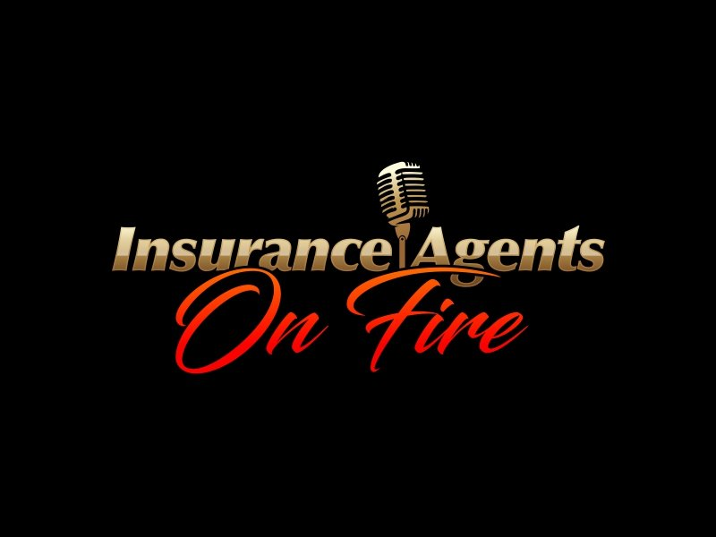 Insurance Agents On Fire logo design by Realistis