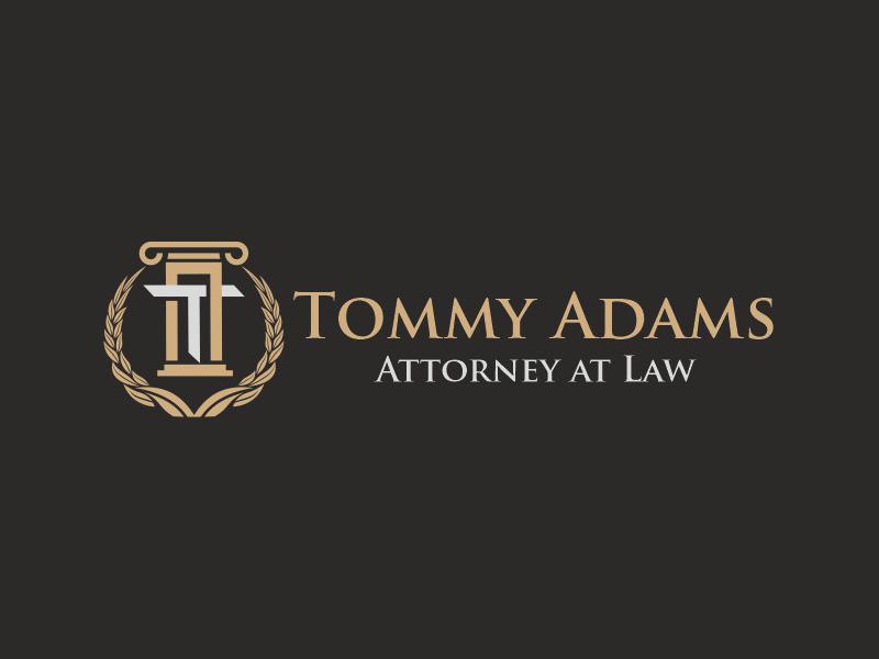 Tommy Adams Attorney at Law Logo Design