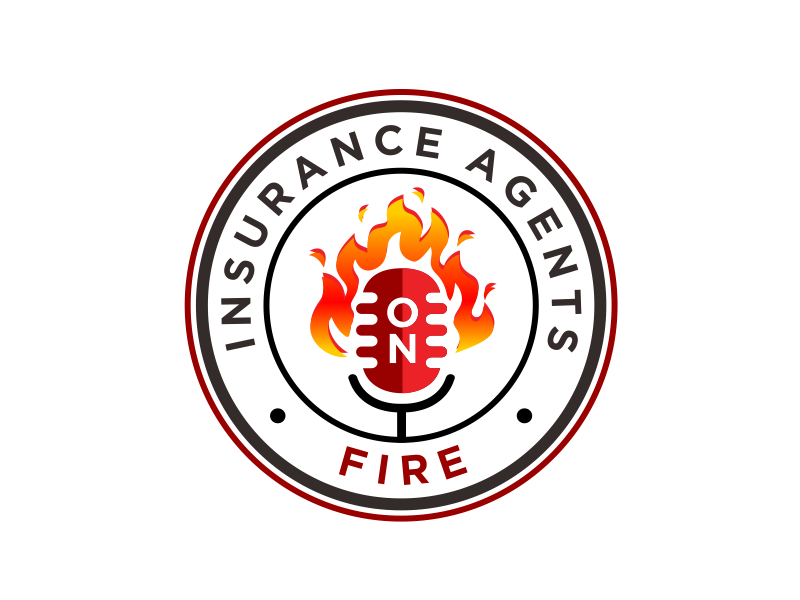 Insurance Agents On Fire logo design by aura