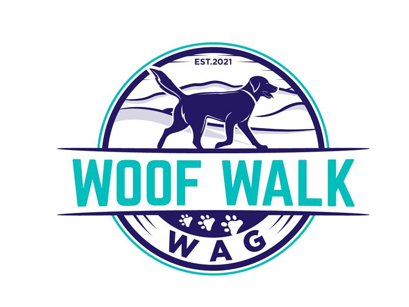 Woof Walk Wag logo design by gogo