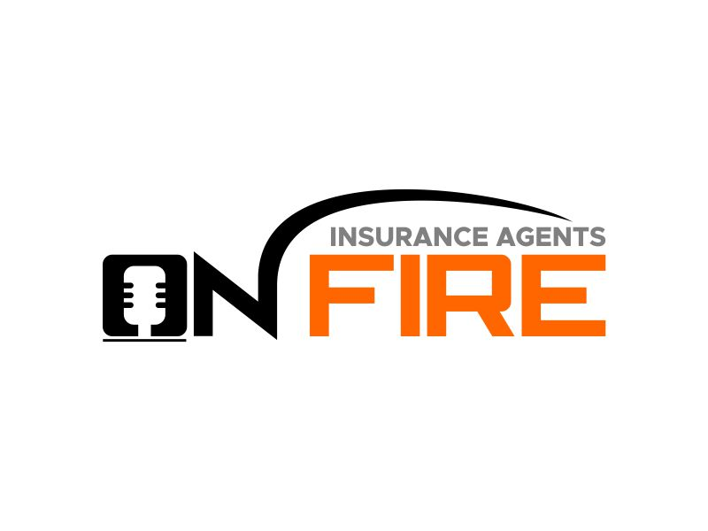 Insurance Agents On Fire logo design by kopipanas