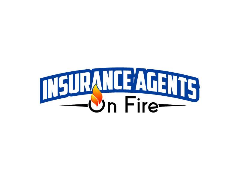 Insurance Agents On Fire logo design by Dini Adistian