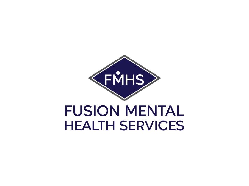 Fusion Mental Health Services logo design by Saraswati