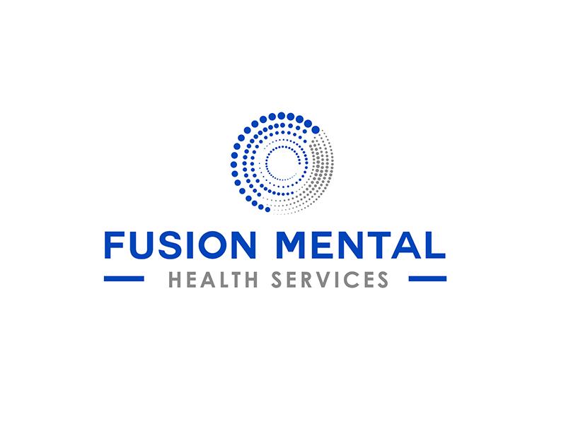 Fusion Mental Health Services logo design by PrimalGraphics