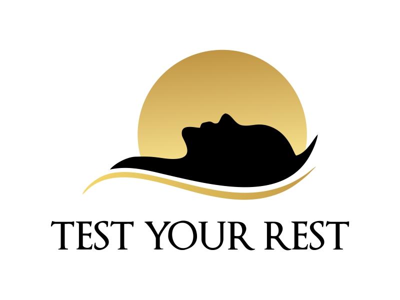 Test Your Rest logo design by JessicaLopes
