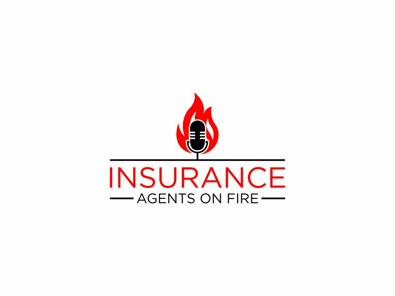 Insurance Agents On Fire logo design by Diponegoro_