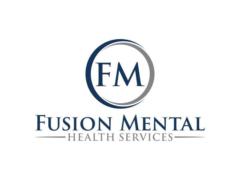 Fusion Mental Health Services logo design by haidar