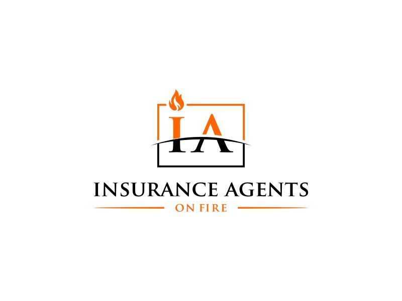 Insurance Agents On Fire logo design by andayani*