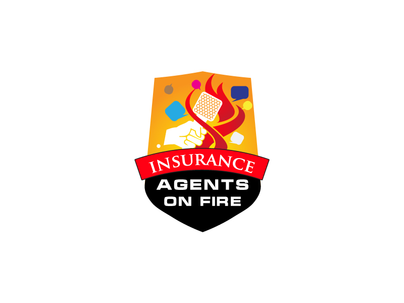 Insurance Agents On Fire logo design by zenith