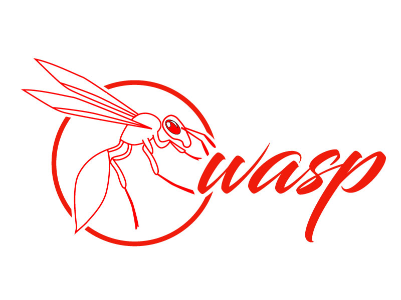 wasp logo design by Suvendu