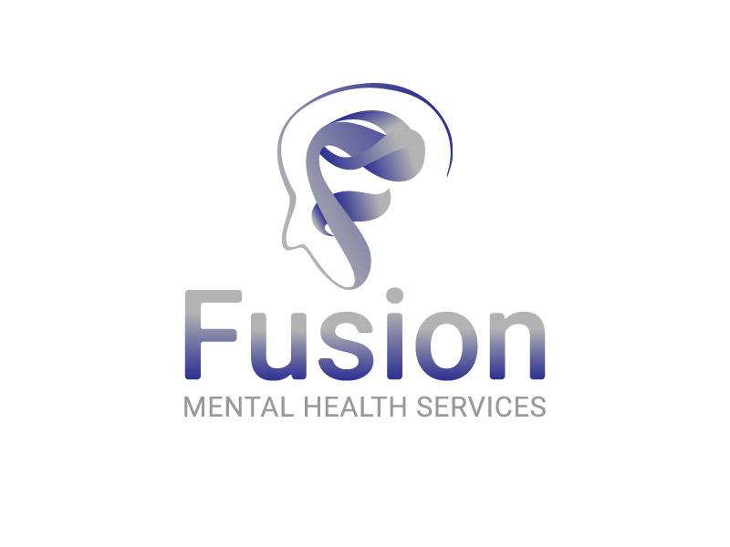 Fusion Mental Health Services logo design by hwkomp