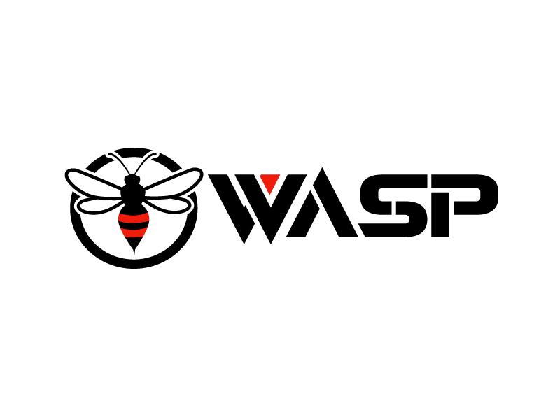 wasp logo design by uttam