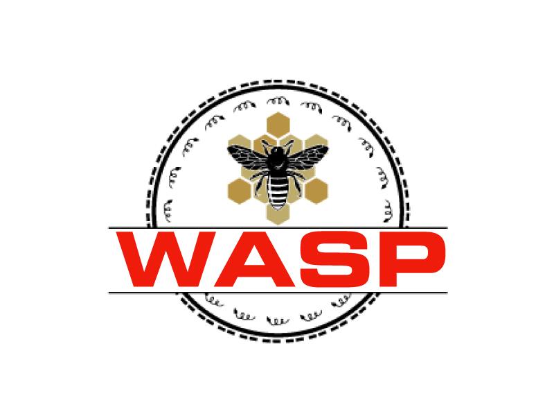 wasp logo design by ElonStark