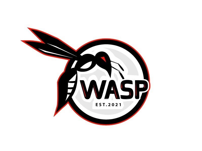 wasp logo design by LogoQueen